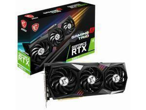 MSI NVIDIA GeForce RTX 3080 Ti GAMING X TRIO 12GB GDDR6X Graphics Card