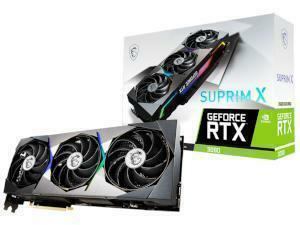 MSI NVIDIA GeForce RTX 3090 SUPRIM X 24GB GDDR6X Graphics Card
