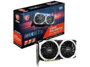 MSI RADEON RX 6600 XT MECH 2X OC 8GB GDDR6 Graphics Card