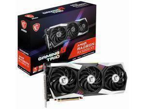 MSI AMD Radeon RX 6900 XT GAMING X TRIO 16GB GDDR6 Graphics Card