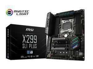 MSI X299 SLI PLUS X299 LGA2066 Gaming Motherboard