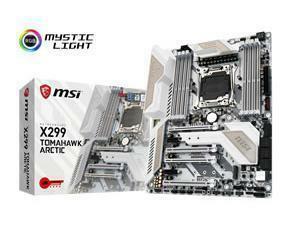 MSI X299 TOMAHAWK ARCTIC Socket LGA2066 Motherboard