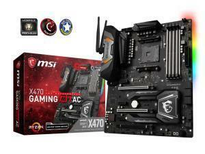 MSI X470 Gaming M7 AC AMD AM4 X470 ATX Motherboard