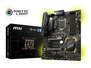 MSI Z370 SLI Plus Socket LGA 1151-V2 ATX Motherboard