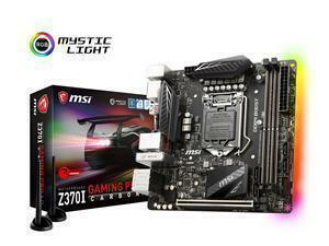 MSI Z370I GAMING PRO CARBON AC Socket LGA 1151-V2 Mini-ITX Motherboard