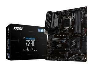 MSI Z390-A PRO Z390 LGA 1151 ATX Motherboard