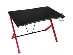 Nitro Concepts D12 Gaming Desk - Black/Red