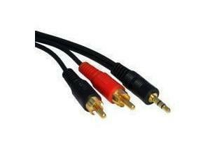 Novatech 3.5mm - 2x RCA Cable - 1.2m