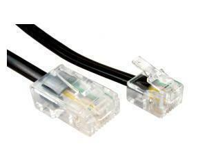 Cables Direct RJ-11/RJ-45 Network Cable for Modem, Router - 2 m