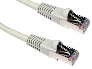 Cat6A Patch Cable 10m Grey