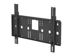 *Unused item-90 days warranty*PMVmounts Universal Flat Wall Mount  Black Maximum Weight 75kg