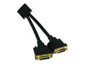 Novatech DVI-D Splitter Cable - 20cm