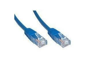 Novatech Blue Cat6 Network Cable - 1m