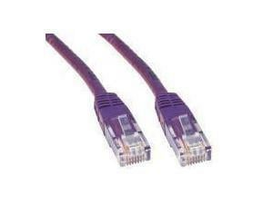 Violet Cat6 Network Cable - 1m