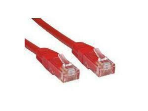 Red CAT6 Network Cable 3m