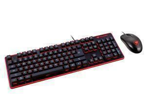 Cougar Deathfire Gaming Keyboard and Mouse Combination - Multicolor Lighting Effects UK Layout