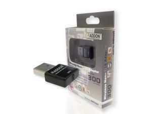 Addon 300Mbps Wireless-N USB Nano Adapter