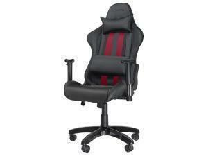 SPEEDLINK Regger Gaming Optimised Chair with 360 Degree Swivel And Lumbar Support, Black