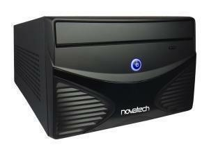 Novatech Mini ITX Mini Cube Case - Black