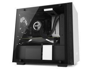 NZXT H200I Matte White Mini-ITX Tower PC Case