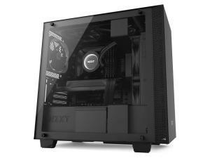 NZXT H400 Matte Black Micro-ATX Tower PC Case