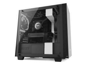 NZXT H400 Matte White Micro-ATX Tower PC Case