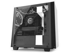 NZXT H400I Matte White And Black Mid Tower PC Case