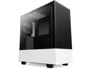 NZXT H510 Flow White Tempered Glass Tower Chassis