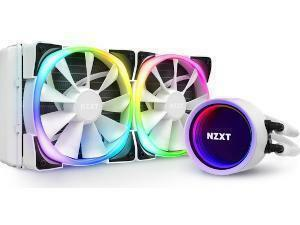 NZXT Kraken X53 White RGB All In One 240mm Water Cooler