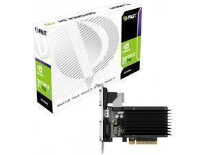 *B-stock item-90 days warranty*PALiT GeForce GT 710 Silent / Low Profile 2GB GDDR3 Graphics Card