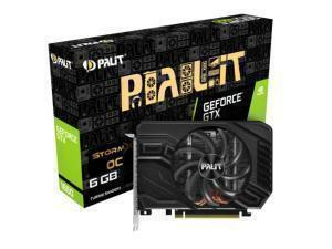 Palit GTX 1660 Storm X OC 6GB Graphics Card