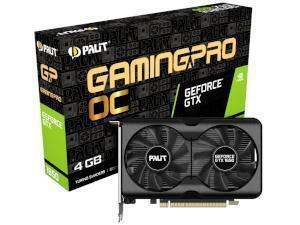 PALiT NVIDIA GeForce GTX 1650 GAMING PRO OC 4GB GDDR6