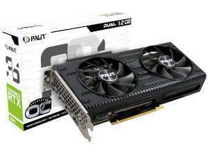PALiT NVIDIA GeForce RTX 3060 DUAL OC 12GB GDDR6 Graphics Card