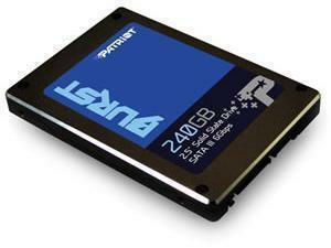 "Patriot BURST 2.5"" 240GB Solid State Drive/SSD"