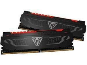 Patriot Viper Red LED Series 16GB (2 x 8GB) DDR4 2400MHz Dual Channel Memory (RAM) Kit