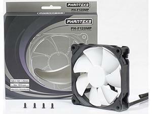 Phanteks PH-F120MP White High Static Pressure PWM 120mm Case Fan