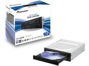 Pioneer BDR-209EBK 16x Blu-ray Re-Writer SATA Retail