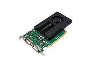 PNY Quadro K2000D 2GB GDDR5 Professional Graphics Card