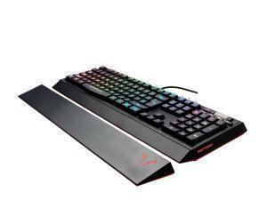 *Ex-display item-90 days warranty*RIOTORO Ghostwriter Classic Membrane Gaming Keyboard, Multicolour, RGB