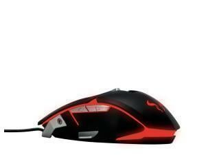 RIOTORO Aurox Prism RGB Gaming Mouse, Black