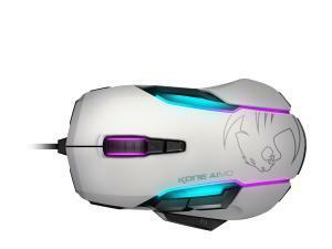ROCCAT Kone AIMO RGBA Smart Customisation Gaming Mouse, White