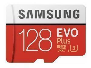 Samsung EVO Plus 128GB MicroSDXC Class 10 Memory Card