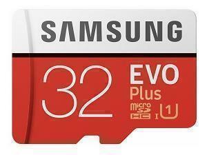 Samsung EVO Plus 32GB MicroSDHC Class 10 Memory Card