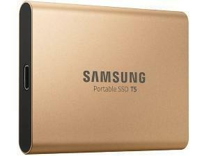 Samsung T5 500GB Solid State Drive (SSD) - Rose Gold