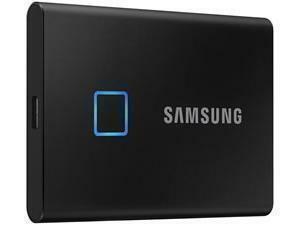 Samsung T7 Touch Black 2TB Portable SSD with Fingerprint ID