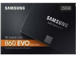 Samsung 860 Evo 250GB Solid State Drive 2.5inch - Retail