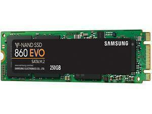 Samsung SSD 860 EVO M.2 250GB Type 2280 Internal SSD