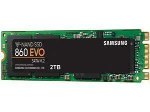 Samsung SSD 860 EVO M.2 2TB Type 2280 Internal SSD