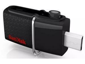 SanDisk Ultra Dual 64 GB USB 3.0 Flash Drive - Black
