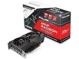 Sapphire AMD Radeon RX 6600 Pulse 8GB GDDR6 Graphics Card